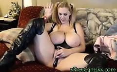 Huge Boobs Blonde Milf