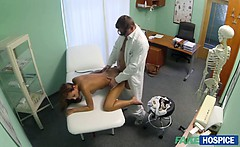 Gina needs a wild sex with the doctor to mend her dizziness