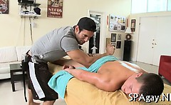Sexy fellatio for hawt homo