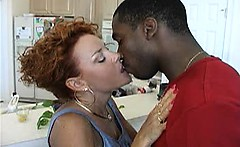 Sexy mature amateur wife and her new black cuckold love