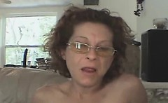Aged Crack Whore In Glasses Sucking Dick POV