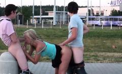 Shocking PUBLIC teen street ORGY gangbang sex Part 3