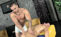 Steamy hawt homosexual massage