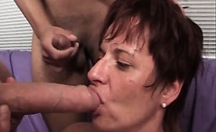 Two mature sluts are enjoying in lesbian sex
