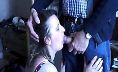 Mature couple feeling crazy and horny