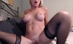 you definitely wanna watch this gorgeous hot blonde babe