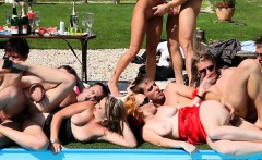 Orgy sluts fingered and fucked