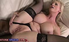 Ass fucked mature slut sucks