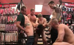 Seth Fisher in cum bdsm orgy