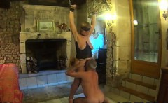 Mature Slave Played With By An Old Man