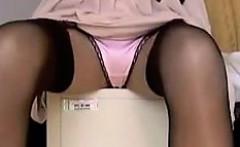 Satin Panties And Nylons