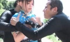 Street Fighter Chun li Cosplay blowjob