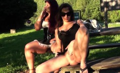 Public nudity is awesome, in this scene we find two naughty