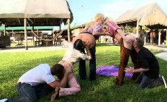 Amazing Orgy with Juicy Ass Cowgirls