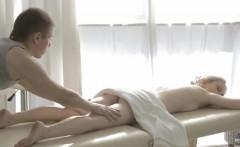 Mirta gets a sensuous massage