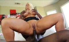 Aluras big tits lures big ebony cock