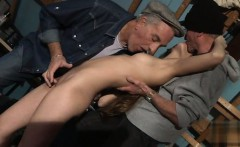 Busty daughter riding cock