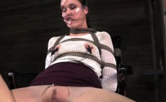 BDSM kitten play time with her kinky dominant