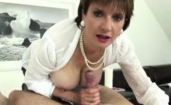 mature british housewife titfucks