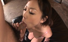 Dreamy looking big breasted hottie called Asuka gets her