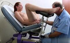 Horny girl spanking