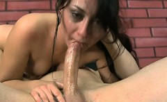 Dirty Hoe Suffocates From Big Cock Pumping Her Throat