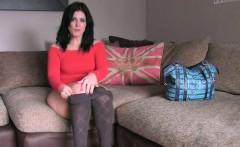 British bbw banging on casting with fake agent