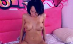 Sexy Latina with Perfect Ass Masturbating
