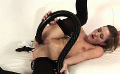 hot young blonde fucking the vacuum