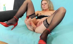 Excellent matured adult toy action plus a flawless thin
