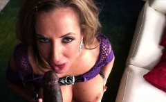 Blonde and sexy Richelle Ryan gets destroyed