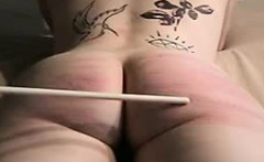ruthless caning her slutty ass