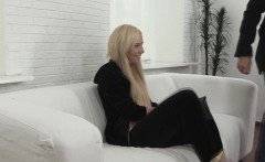 Petite blonde casting russian amateur