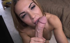 Kylie Rogue was so horny taking a big dick in her mouth