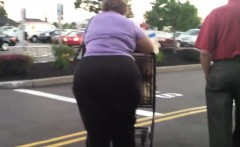Grandma With A Big Butt At The Store