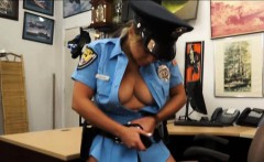 Police Officer pounded at the pawnshop to earn extra money
