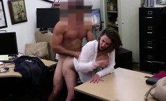 Blonde Milf business woman needs cash ends up in the office