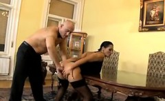 Dirty MILF Being Fisted And Drilled