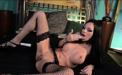Raven Bay in Hot Stockings with Toys