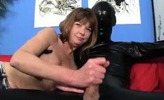 Strange Stranger In Black Outfit
