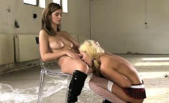 Gabriela Daniels and Charlotte take piss shower