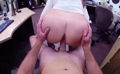 Hot ass amateur MILF fucking for pawn shop cash