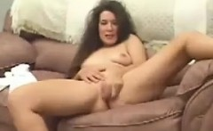Naughty Mother Getting Naked And Smoking