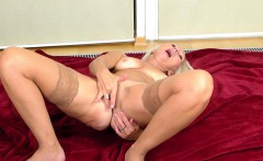 The Lovely MILF Callidica Stretches For You