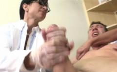 Mature CFNM nurses sucking patients cock