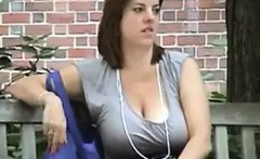 Saggy Mothers Breasts Out In Public