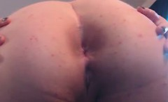 Fat Girl Shows Off Her Ass Close Up