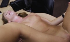 Blonde Bride To Be Fucked And Facial In Pawn Shop Office