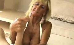Granny And Stud Recording A Handjob And Tit-fuck