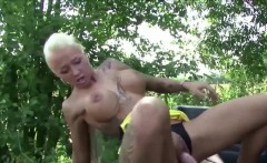 German Young Street Whore fucked by older Man for Money